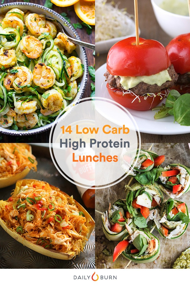 14 High Protein Low Carb Recipes to Make Lunch Better