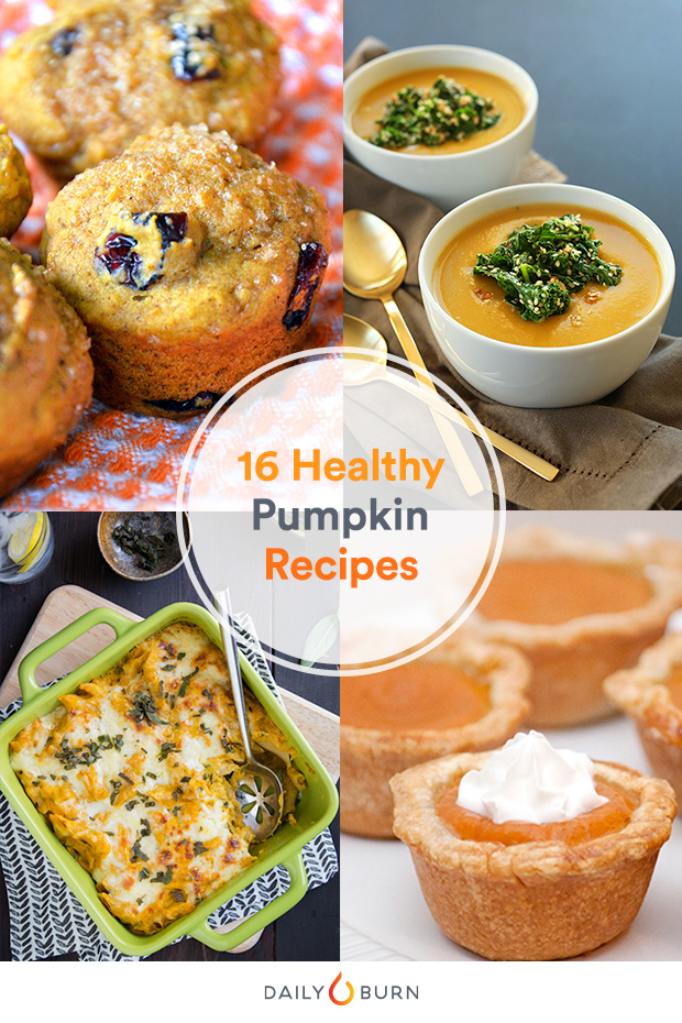 16 Healthy Pumpkin Recipes for Every Meal