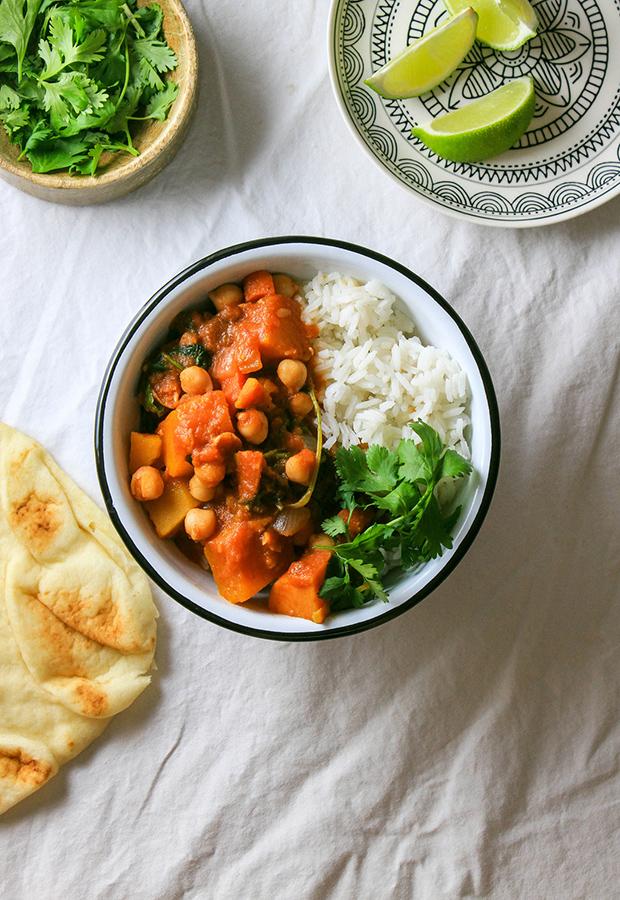 Moroccan Pumpkin Chickpea Stew