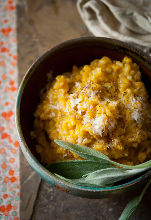 Brown Rice Pumpkin Risotto