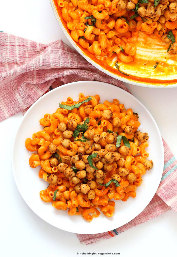 Roasted Red Pepper with Chickpeas, Pasta Sauce Recipes